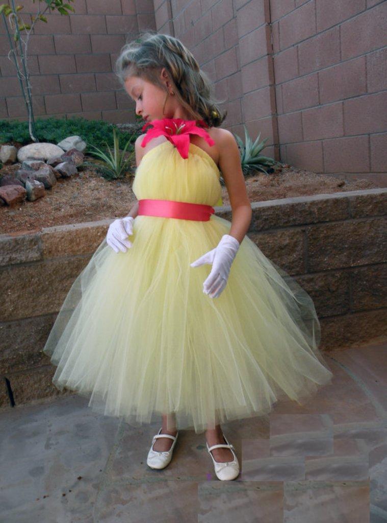 Платье туту на девочку своими руками 51