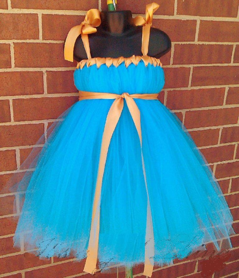 Сшить платье с фатина 72